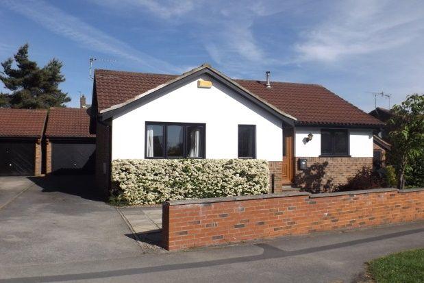 Thumbnail Bungalow to rent in Arthurs Avenue, Harrogate