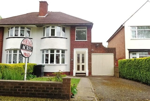 Thumbnail Semi-detached house for sale in George Road, Great Barr, Birmingham