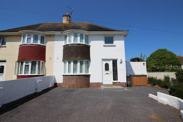 Thumbnail Semi-detached house for sale in Dart Avenue, Torquay