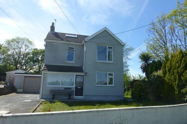 Thumbnail Detached house for sale in Waunfarlais Road, Llandybie, Ammanford, Carmarthenshire.
