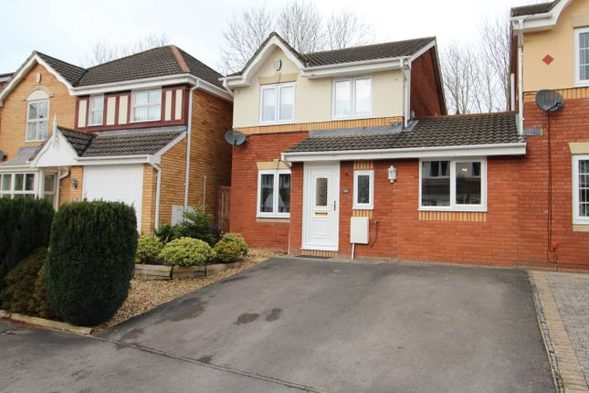 Thumbnail Link-detached house for sale in Manor Park, Newport