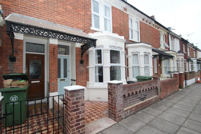 Thumbnail Terraced house to rent in Woodmancote Road, Southsea
