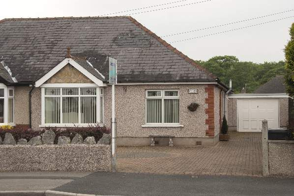 Thumbnail Semi-detached bungalow for sale in Bare Lane, Bare, Morecambe
