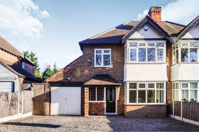 Thumbnail Semi-detached house for sale in Shepherds Green Road, Birmingham