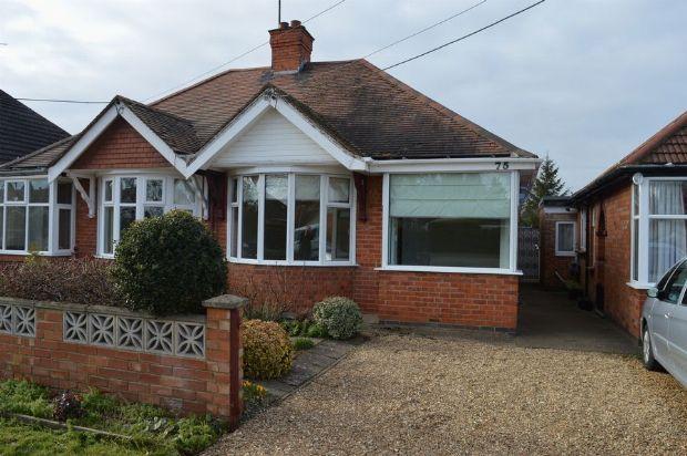 Thumbnail Semi-detached bungalow to rent in Northampton Lane South, Moulton, Northampton