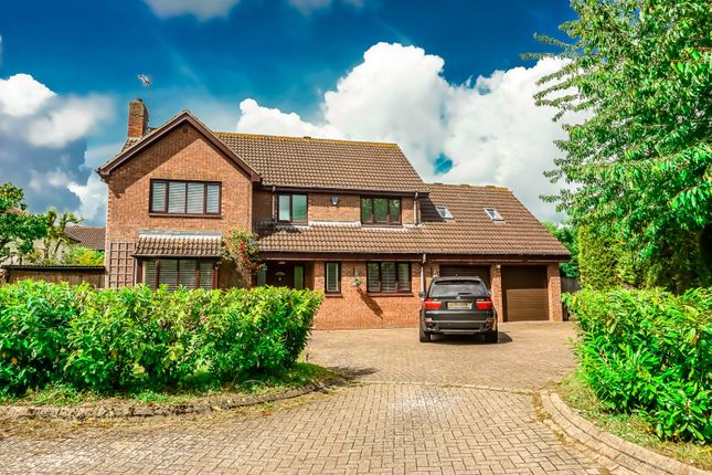 Thumbnail Detached house for sale in Rowsham Dell, Giffard Park, Milton Keynes