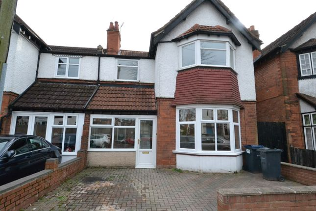 Thumbnail Semi-detached house to rent in Abbots Road, Birmingham
