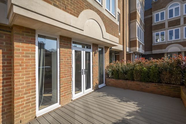 Patio of Ealing Green, London W5