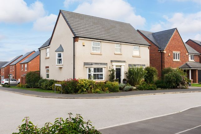 "Thumbnail Detached house for sale in ""Cadeleigh"" at Cheriton Close, Connah's Quay, Deeside"