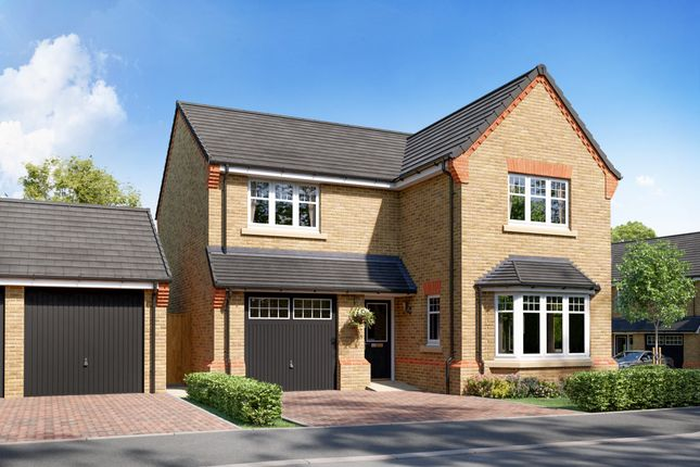 """Thumbnail Detached house for sale in """"Plot 124 - The Settle V1"""" at Flaxley Road, Selby"""