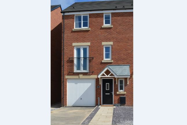Thumbnail End terrace house for sale in 147 Glaramara Drive, Carlisle