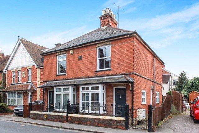 Thumbnail 2 bed semi-detached house for sale in Maldon Road, Great Baddow, Chelmsford