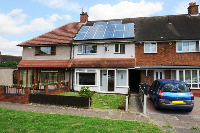 Thumbnail Terraced house for sale in Pear Tree Road, Shard End, Birmingham