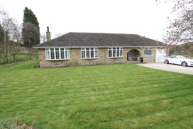 Thumbnail Detached bungalow for sale in Highstone Lodge, Racecommon Lane, Barnsley