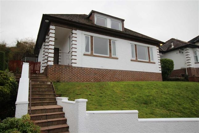 Thumbnail Detached house for sale in Victoria Road, Gourock, Renfrewshire