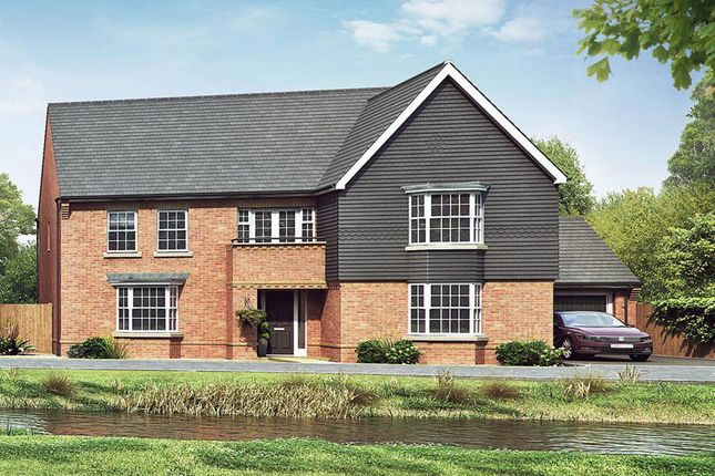 """Thumbnail Detached house for sale in """"Kemble"""" at Hill Pound, Swanmore, Southampton"""
