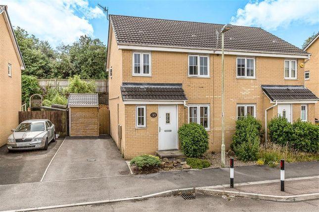 Thumbnail Semi-detached house to rent in Clos Tyn Y Coed, Sarn, Bridgend