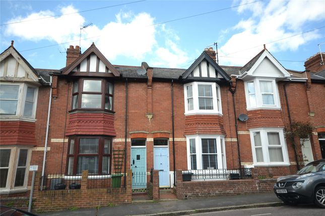 Thumbnail Terraced house to rent in West Grove Road, St. Leonards, Exeter