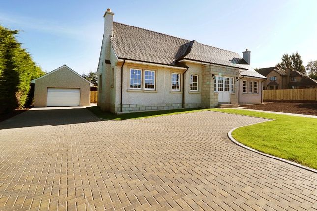 Thumbnail Detached bungalow for sale in Castleton Gardens, Auchterarder, Perthshire