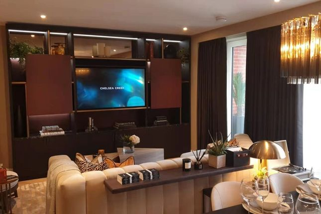 Thumbnail Flat for sale in Westwood House, Chelsea Creek, Fulham