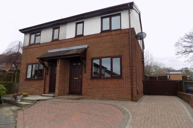 Thumbnail Semi-detached house to rent in Cross Swords Close, Chorley