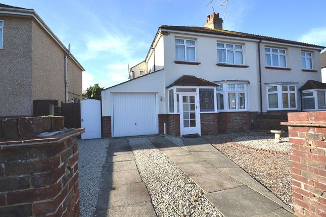 Thumbnail Semi-detached house to rent in George V Avenue, Worthing, West Sussex