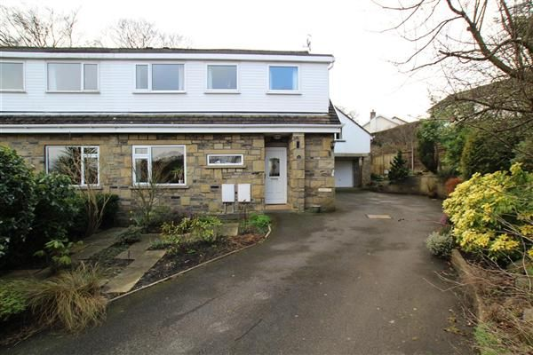 Thumbnail Semi-detached house for sale in Breck Lea, Sowerby Bridge