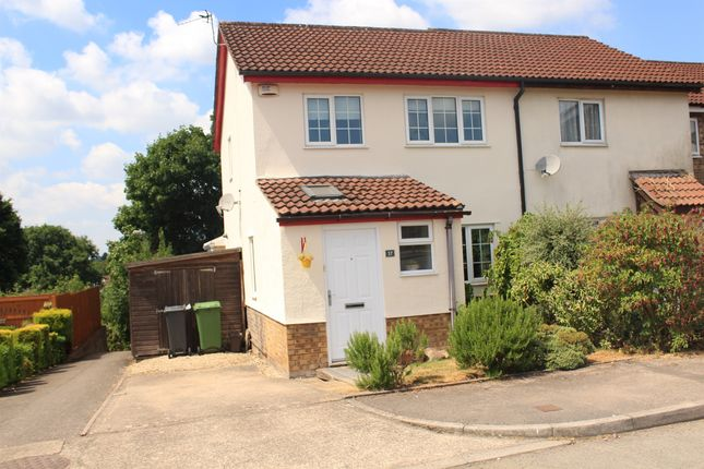 Thumbnail End terrace house for sale in Spring Grove, Thornhill, Cardiff