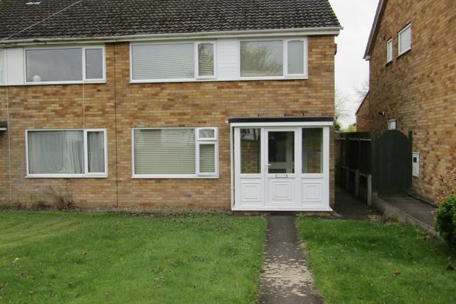 Thumbnail Semi-detached house to rent in Lichen Green, Cannon Park, Coventry