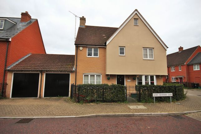 Thumbnail Detached house for sale in Agnes Silverside Close, Colchester