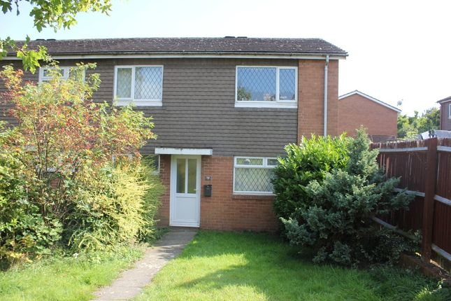 Thumbnail End terrace house to rent in Wesley Walk, Bromsgrove