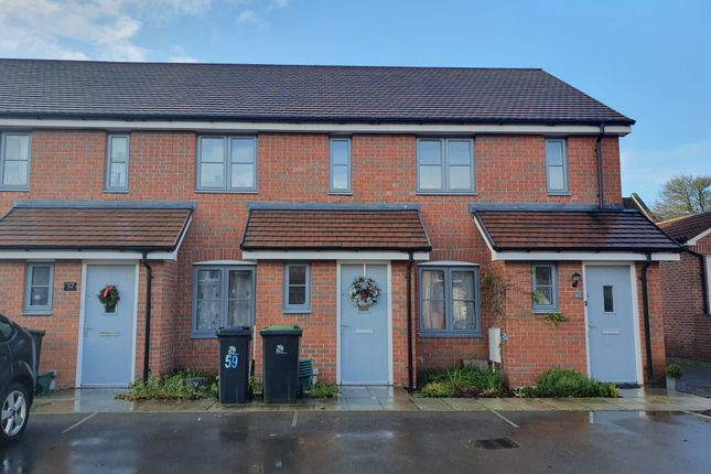 2 bed terraced house to rent in Anstee Road, Shaftesbury SP7