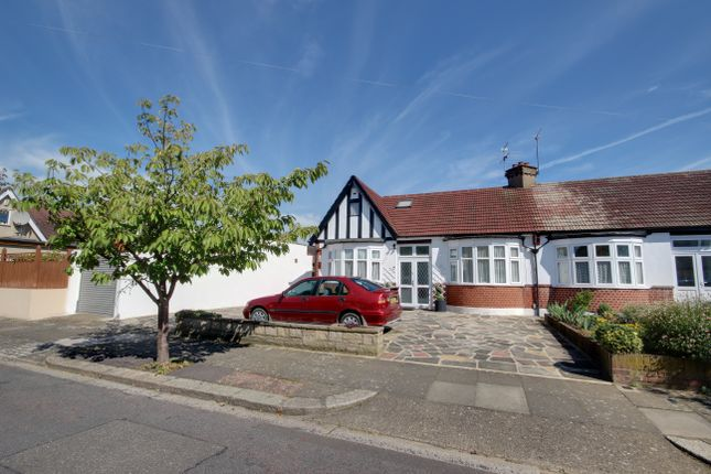 Thumbnail Semi-detached bungalow for sale in Manorway, Enfield