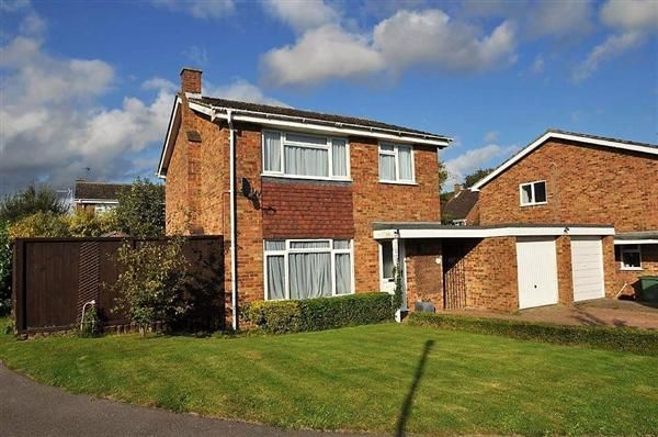 Thumbnail Detached house for sale in Burgess Hall Drive, Leeds, Maidstone