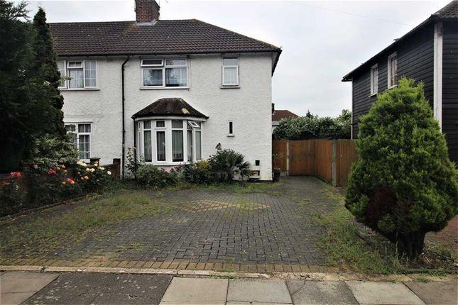 Thumbnail End terrace house for sale in Storksmead, Burnt Oak, Middlesex