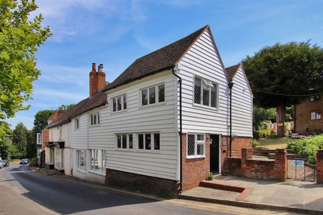 Thumbnail End terrace house for sale in High Street, Farningham, Kent