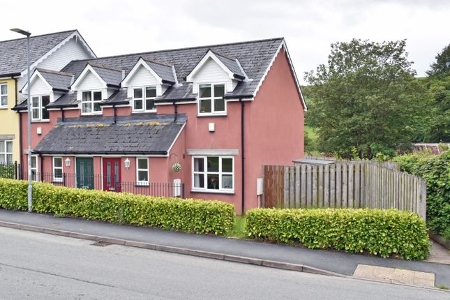 Thumbnail End terrace house for sale in East Street, Rhayader