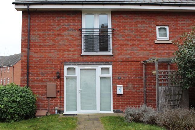 Thumbnail End terrace house to rent in Padside Row, Hamilton, Leicester