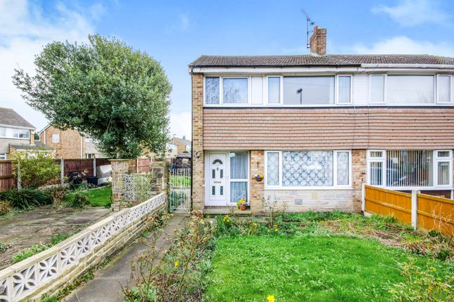 Thumbnail Semi-detached house for sale in Thornleigh Drive, Thornes, Wakefield