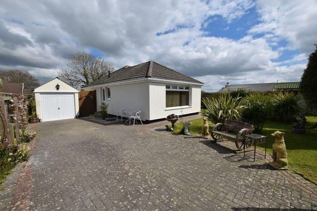 Thumbnail Detached bungalow for sale in Petherwin Gate, Launceston
