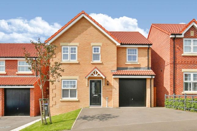 Thumbnail Detached house for sale in Hogarth Close, Ushaw Moor