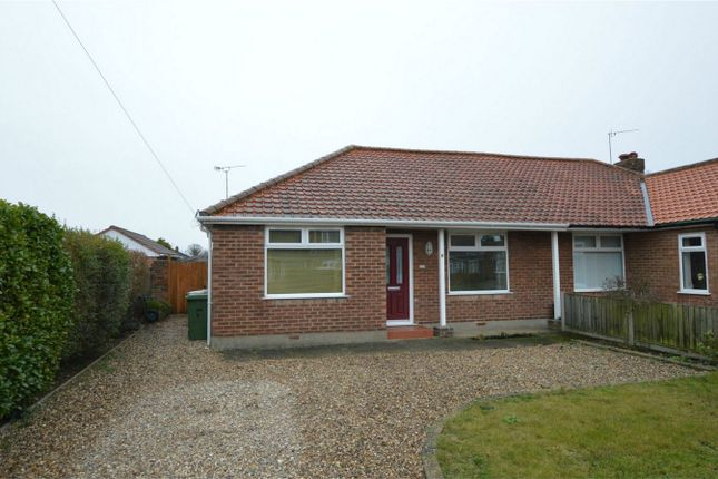 Thumbnail Semi-detached bungalow for sale in Breck Road, Sprowston, Norwich
