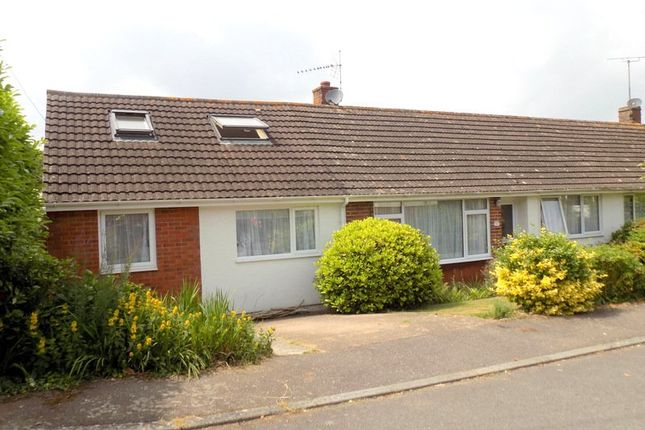 Thumbnail Semi-detached bungalow for sale in Summerfield, Woodbury, Exeter, Devon