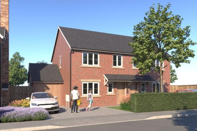 Thumbnail Semi-detached house for sale in Kingfisher Way, Morda, Oswestry