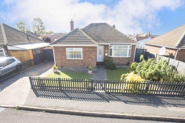 Thumbnail Detached bungalow for sale in Rowan Avenue, Market Harborough