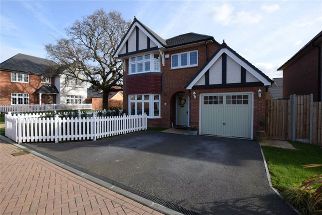 Thumbnail Detached house for sale in Llewellyn Grove, Langdon Hills, Basildon, Essex