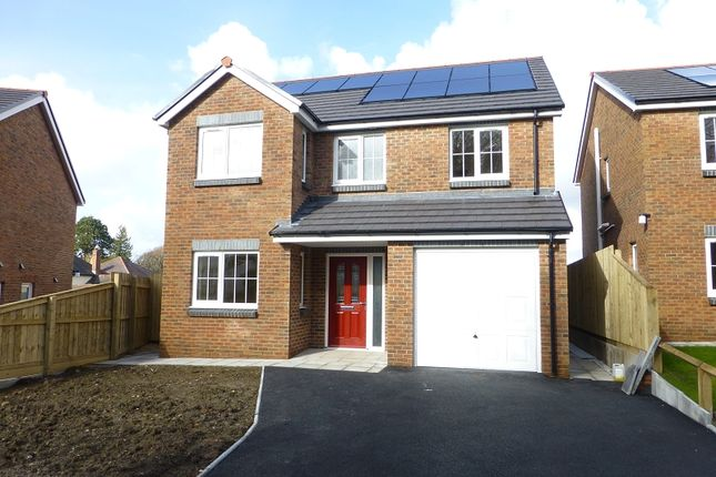 Thumbnail Detached house for sale in Parc Nant Y Ffin, Colonel Road, Betws, Ammanford, Carmarthenshire.