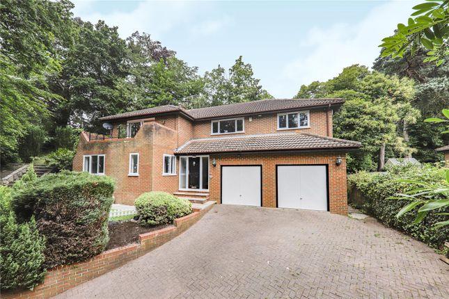 Thumbnail Detached house for sale in Scotland Hill, Sandhurst, Berkshire