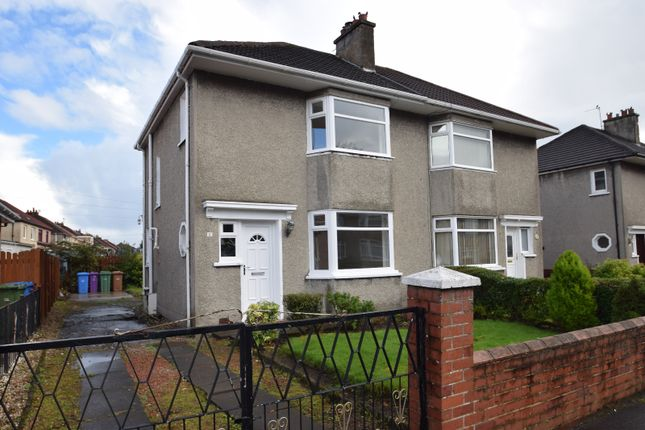 Thumbnail Semi-detached house for sale in Ladyhill Drive, Baillieston, Glasgow