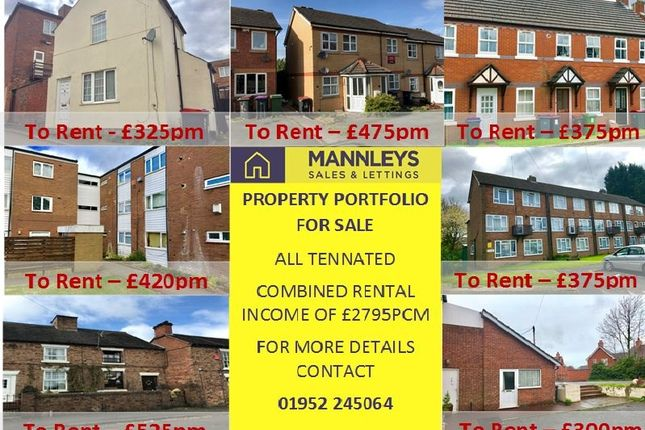 Thumbnail Detached house for sale in Market Street, Wellington, Telford